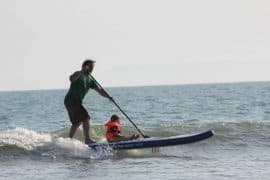 Mistral iSUP 11'5 being surfed