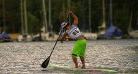 Danny Ching at the Fastest paddler on earth Lost Mills time trials Jimmy Lewis Paolo Marconi