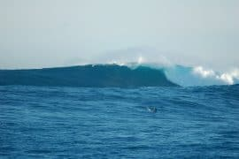Big wave surfing the Cortes Bank