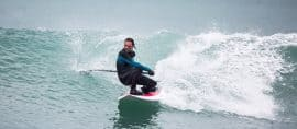 TBone sup surfing the worldwide 8'1